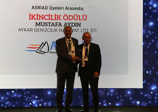 Aykar Denizcilik has won the Asriad 1. Stars of Trading award.